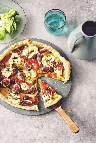 Tarta z papryką i figami. 7 przepisów na jesienne dania z warzyw