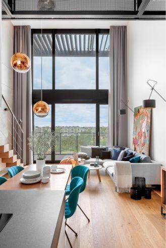 Soft loft – ciepłe i nastrojowe wnętrza w stylu loftowym