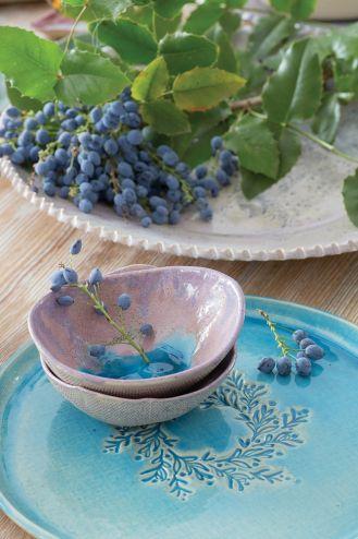 Kolorowa ceramika stołowa karolina nowak