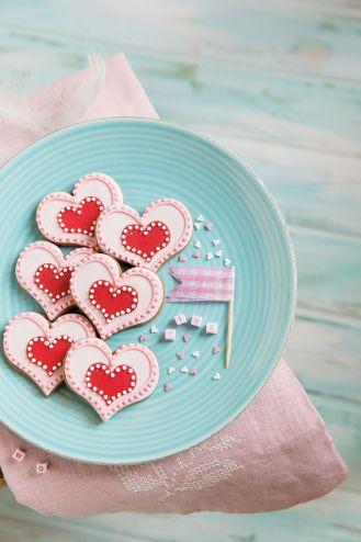 Ciasteczka słodkie serduszka - deser nie tylko na walentynki