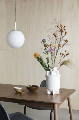 wazon ceramiczny biały