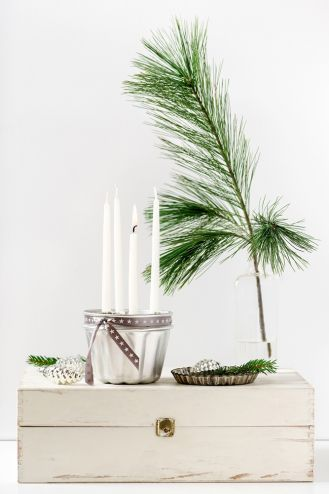 bożonarodzeniowy stroik zrób to sam