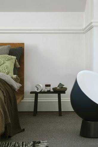dodatki do sypialni w stylu skandynawskim