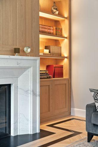 styl modernistyczny salon
