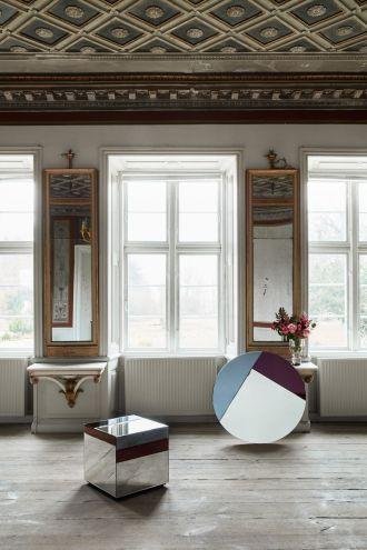 dekoracje do domu z kryształu i luster