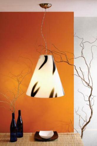 Lampa Wild West Classic z trójwarstwowego szkła opalowego. Cena - 1097 zł. FALKO