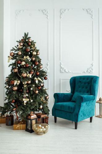 Złota choinka – galeria inspirujących bożonarodzeniowych dekoracji