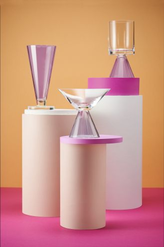 KROSNO D SIGN: limitowana kolekcja szkła Karima Rashida