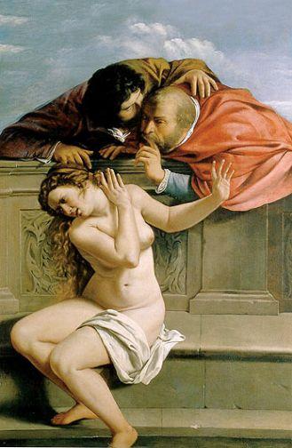 1610, Artemisia Gentileschi. Gorączka lutowych nocy