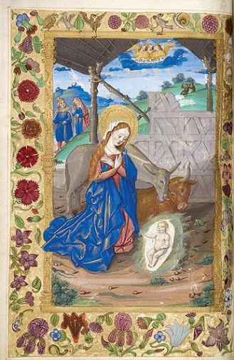 Boże Narodzenie w manuskryptach. Boże Narodzenie w manuskryptach