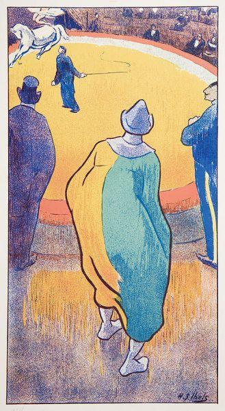 Henri-Gabriel Ibels W cyrku – arena cyrkowa , 1893 r.