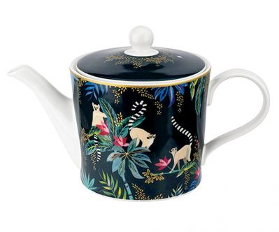 porcelanowy dzbanek do herbaty