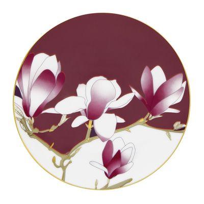 talerze w kwiaty