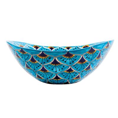 kolorowa umywalka ceramiczna