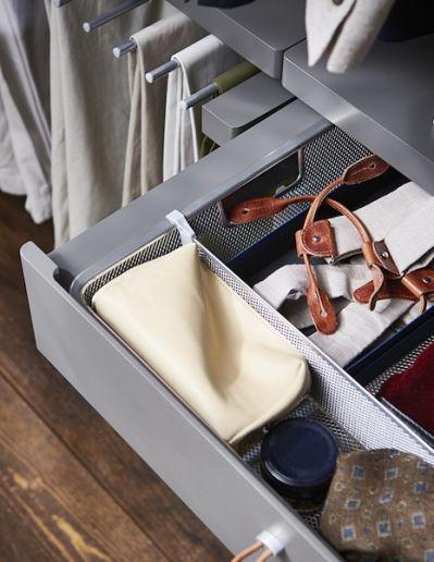 mała garderoba przechowywanie