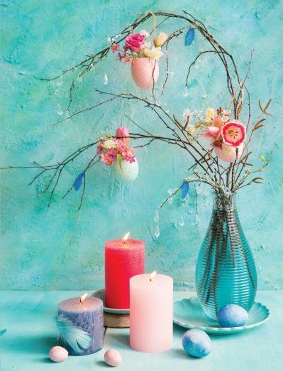 dekoracja na stół wielkanocny