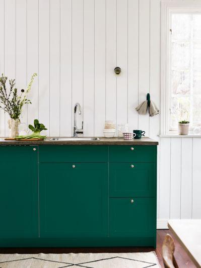jak pomalować szafkę w kuchni