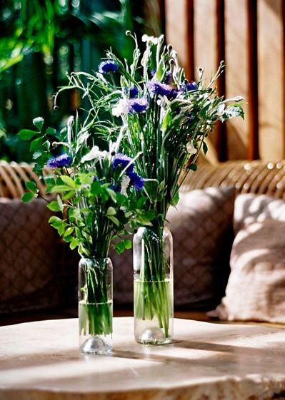 wazon szklany z recyklingu