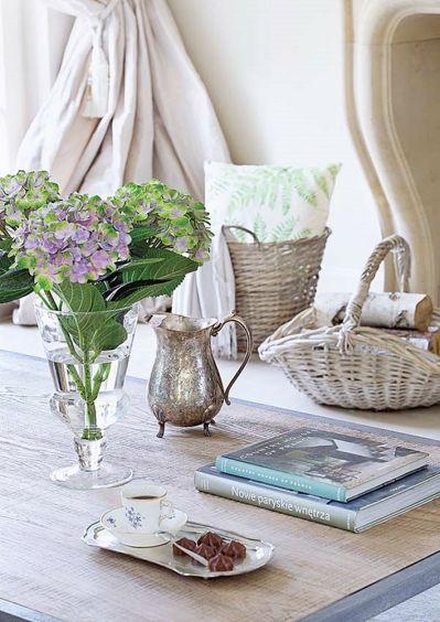 kwiaty na stolik kawowy