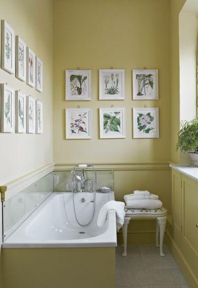 pomysł na ściany w łazience