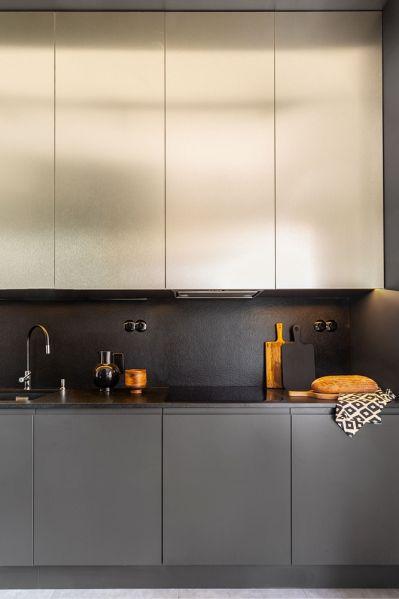pomysły na fronty szafek kuchennych