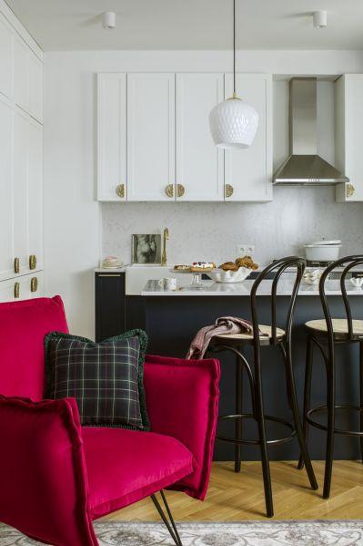 wspieram polski design aranżacja salonu z aneksem kuchennym