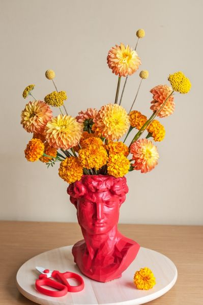 jesienne kwiaty do bukietów