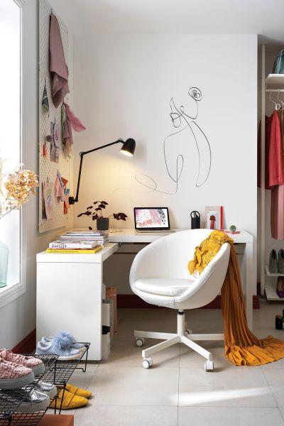 jak urządzić miejsce do pracy w domu
