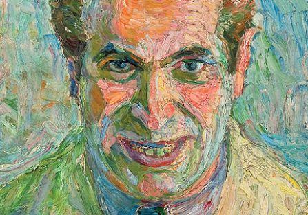 Autoportret z pędzlem