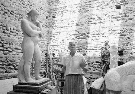 Zamoyski rzeźbił ciało i kamień