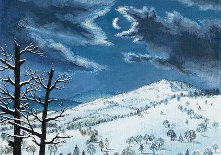 Zimowe pejzaże Kamila Targosza