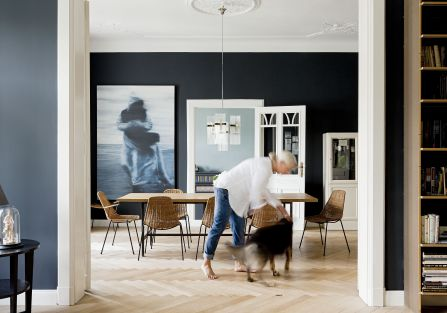 stylowe wnętrze salon fotografie