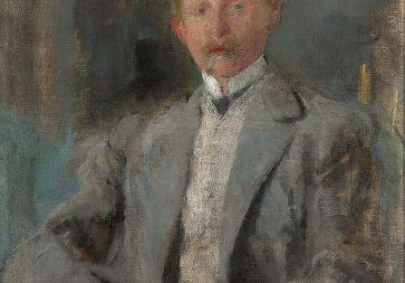 Olga Boznańska Portret Ludwika Pugeta , szkic, 1907 r.