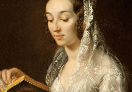 Portret żony w stroju ślubnym (Anastazja z Głowackich) , 1835 r.