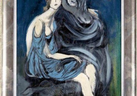 Adam Hoffman, ilustracja do Snu nocy letniej ? Tytania i Spodek , cw 6800 zł, DESA UNICUM