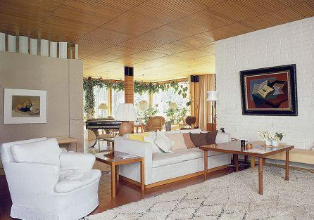 Alvar Aalto wypełnił dom pomysłami, które chodziły mu po głowie, ale nie miał okazji wcielić ich w życie.