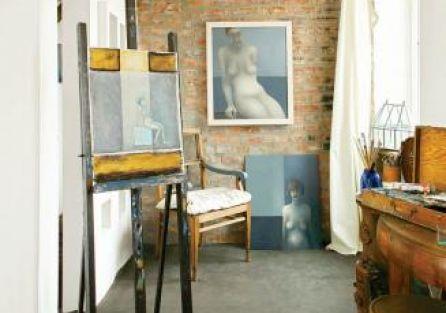 Atelier Małgosi Babicz-Pempel. Boginie na poddaszu