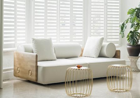 Deco sofa i stołki Pumpkin. Miszmasz po turecku