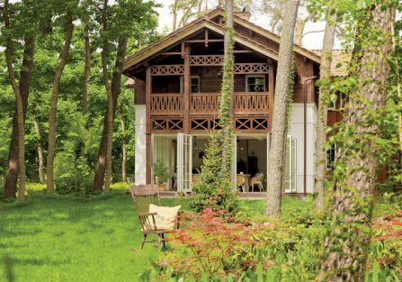 Dom jest nowy i wygodny, ale wygląda jakby był wybudowany 100 lat temu.