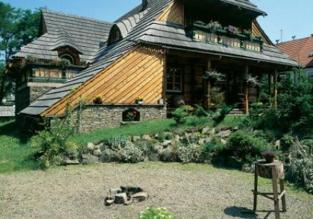 Dom otacza ogród. Wymarzone miejsce
