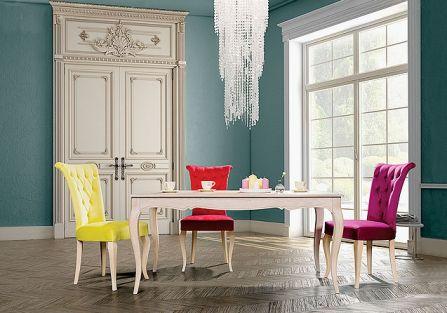 FLORENCE, z litego drewna bukowego, do wyboru różne tkaniny obiciowe, od 1000 zł, MEUBLES DE CHARME, meublesdecharme.com.pl