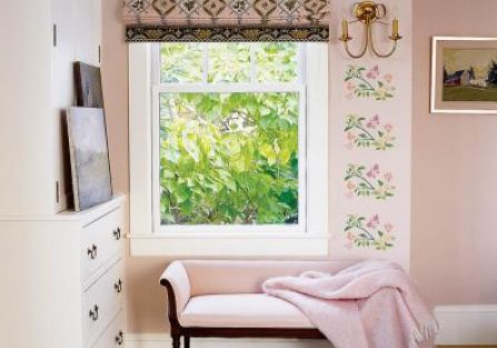 Freski w sypialni. Witamy wiosnę