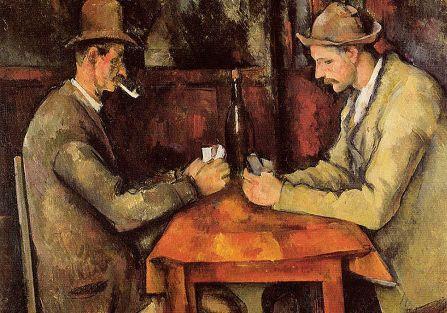 Grający w karty , Paul Cezanne, 1893-1896 r.
