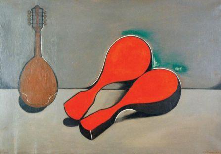 Henryk Berlewi La Mandoline , 1952 r., cs 56 000 zł, REMPEX