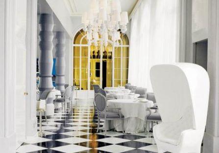 Jaime Hayon Madrycka restauracja La Terraza del Casino.