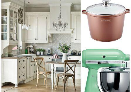 Jak urządzić kuchnię, by wszystko w niej do siebie pasowało? Wybieramy styl, meble do kuchni oraz dobieramy sprzęty.