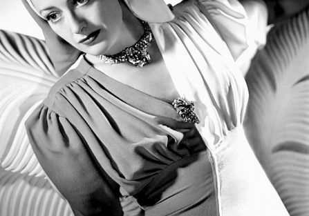 Joan Crawford, 1940 r. Biżuteria z Hollywood