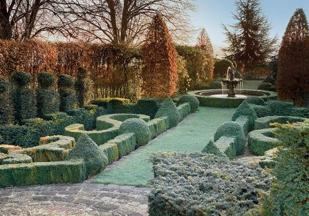 Kathy Brown s Garden. Ogród mrozem malowany
