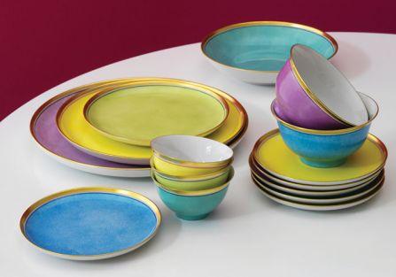 Kolekcja Colour w pastelach. Kolorowa porcelana