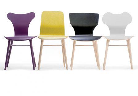 Kolekcja Xchair dla Paged Meble. Krzesła od Jadwigi Husarskiej